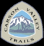 Logo for Carson Valley Trails Association